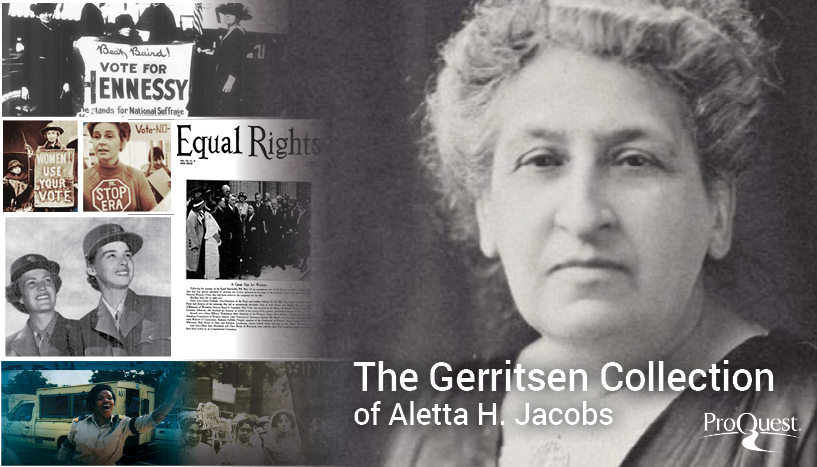 The Gerritsen Collection of Aletta H. Jacobs Foto: