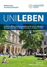 Plakat zur Hausmesse UniLeben, 3. u. 4. Oktober 2016.