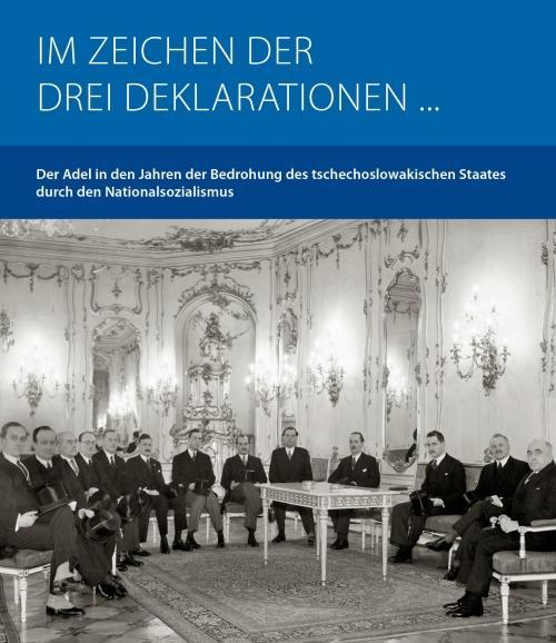 Präsident Hácha empfängt die Delegation der alten tschechischen Adelsfamilien auf der Prager Burg. Prag, 24. Jänner 1939 Quelle: ?TK.
