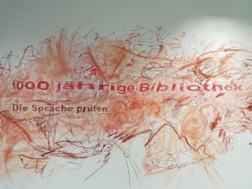 Wandbild zur Ausstellung