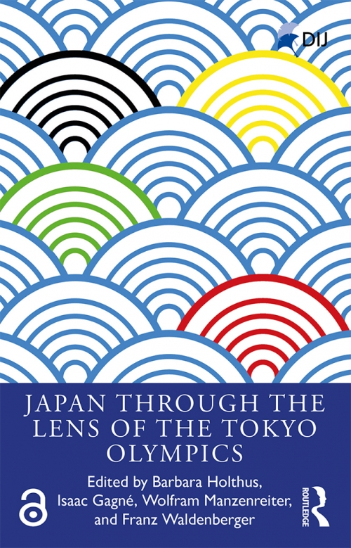 Buchcover: Japan through the lens of the Toyko Olympics. © Routledge, 2020