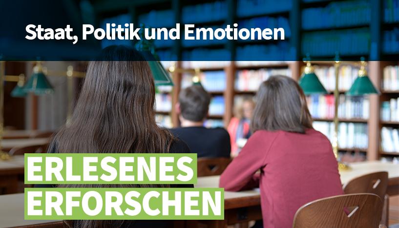Erlesenes Erforschen: Staat, Politik und Emotionen Foto: Erlesenes Erforschen: Staat, Politik und Emotionen