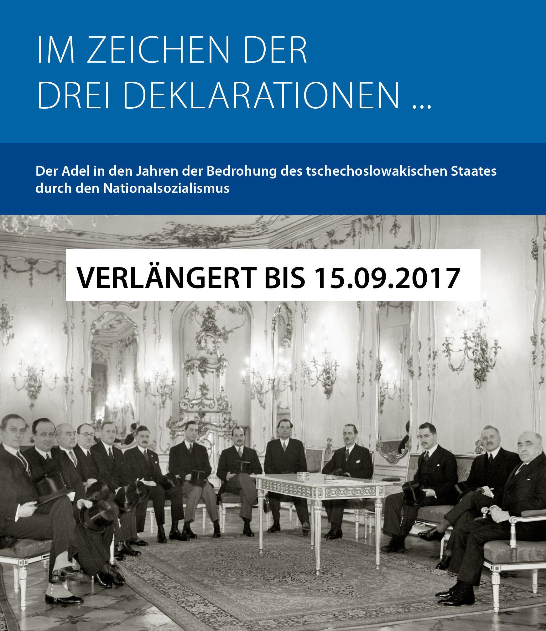 """Bild zur Veranstaltung Ausstellung: """"Im Zeichen der drei Deklarationen..."""""""