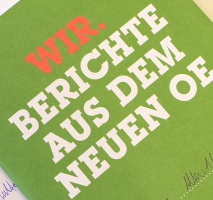 Bild zur Veranstaltung Pr�sentation: Wir. Berichte aus dem neuen OE
