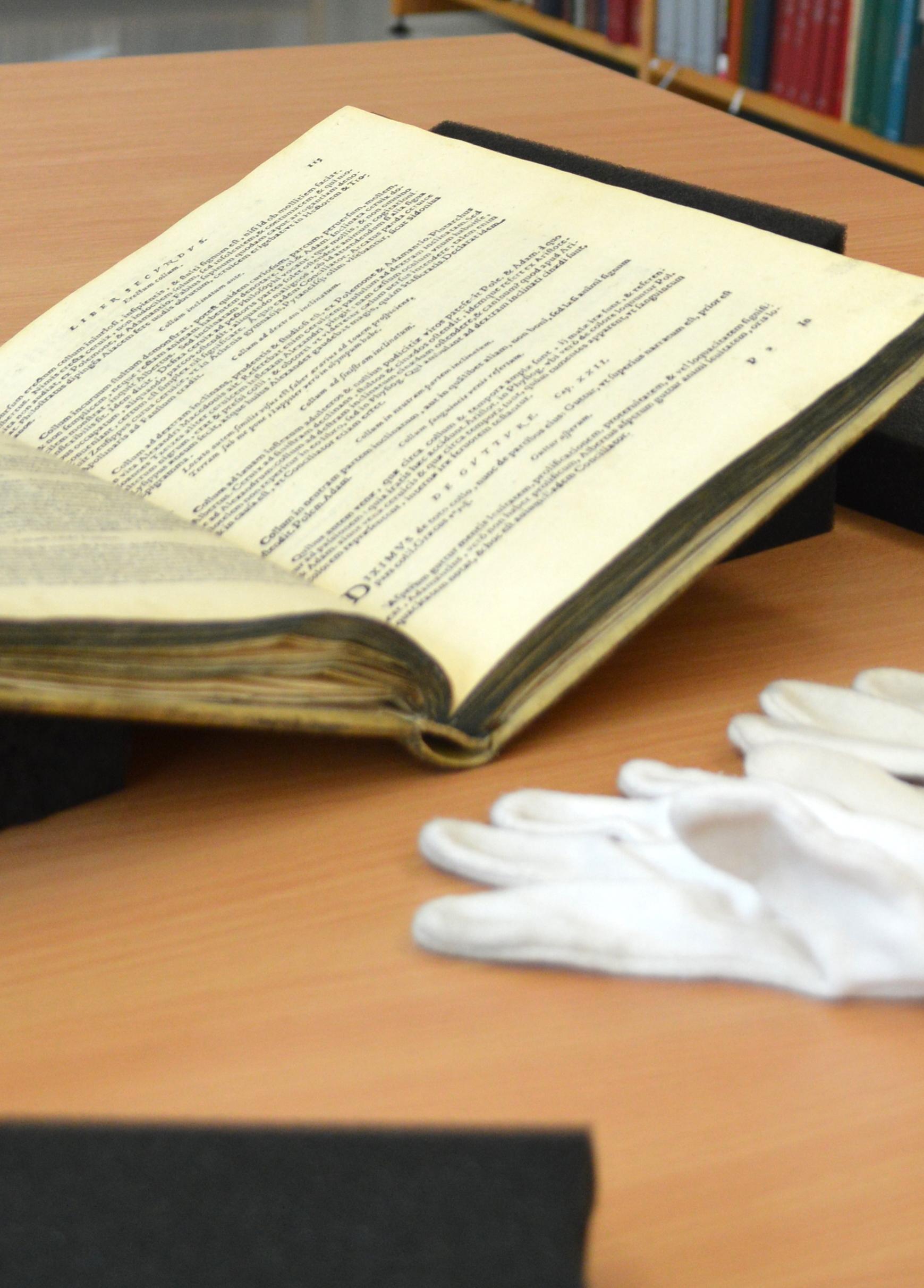 Bild zur Veranstaltung Tag der offenen Tür im Lesesaal Altes Buch