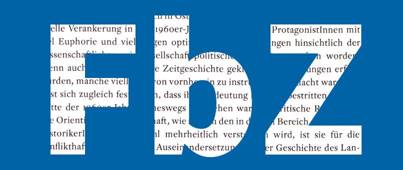 © Einleitung, in: 50 Jahre Institut für Zeitgeschichte der Universität Wien 1966-2016. Hrsg. Von Bertrand Perz und Ina Markova. Wien. new academic press 2017, S. 15.
