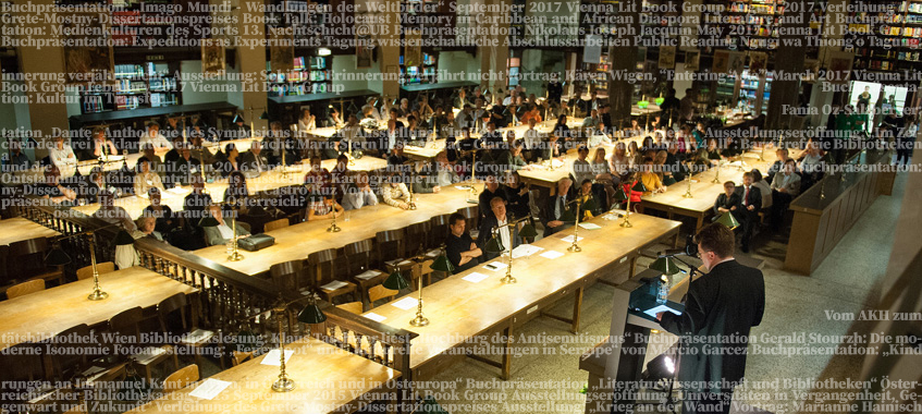 Veranstaltung im Großen Lesesaal. © Universität Wien / Barbara Mair