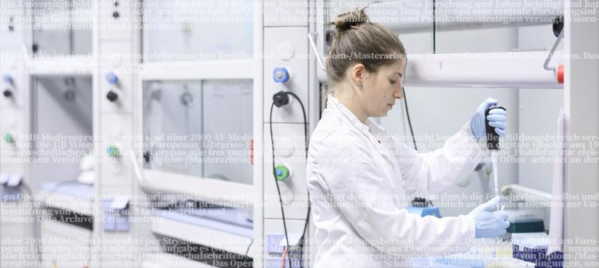 Forscherin. © Universität Wien / derknopfdruecker.com