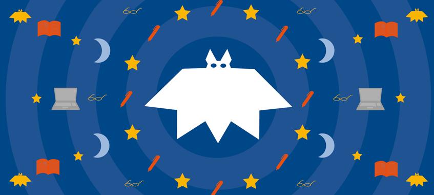 Nachtschicht-Logo. © Universität Wien / Hannah Alker-Windbichler