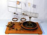 Ampere'sches Gestell mit drei Stromleitern