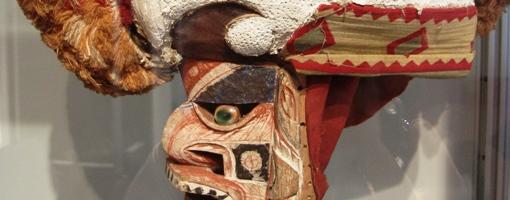 Malangan-Maske, Ethnologische Sammlung