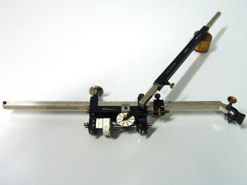 Kompensations-Polarplanimeter von Gottlieb Coradi, 1913