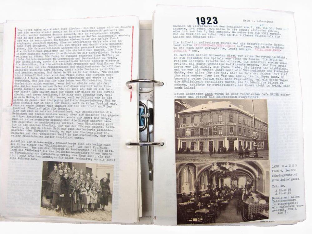 Lebensaufzeichnungen von Franz Bohaumilitzky