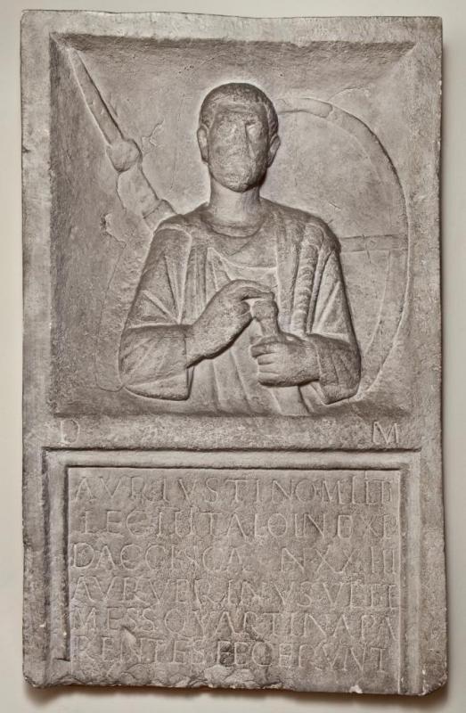Grabstein des Aurelius Iustinus