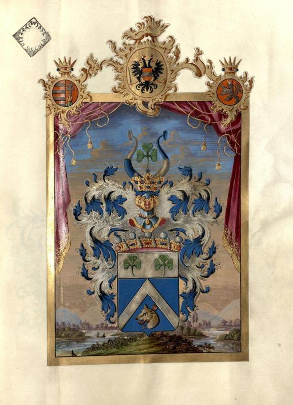 Wappen des Nikolaus Joseph von Jacquin
