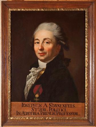 Joseph von Sonnenfels im Porträt des Anton Graff