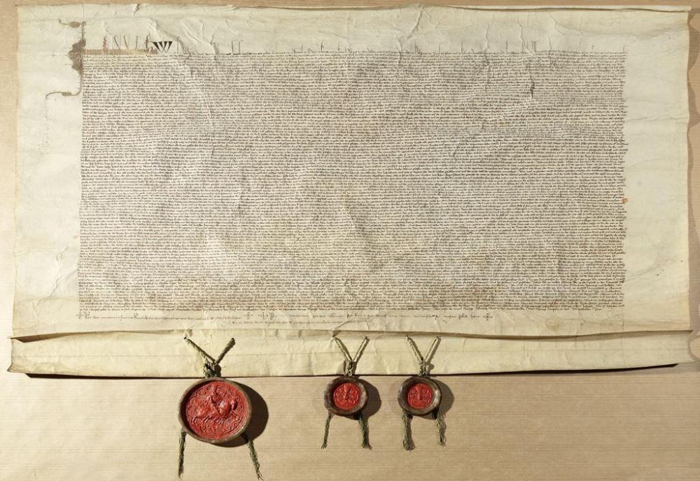 Stiftbrief der Universität Wien