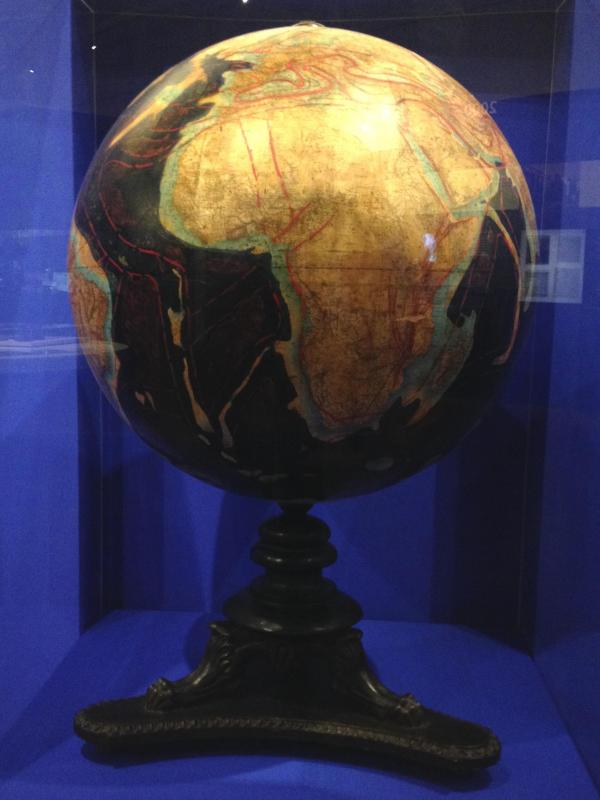 Tektonischer Globus