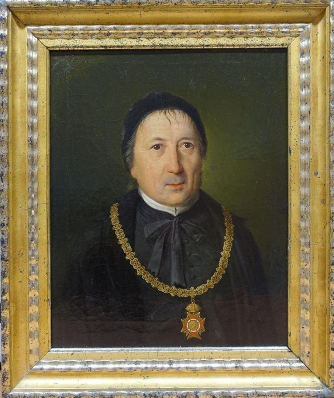 Meinrad Lichtensteiner OSB als Rektor der Universität Wien