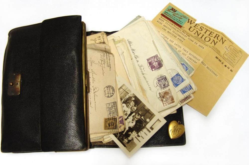 Brieftasche von Martha Teichmann