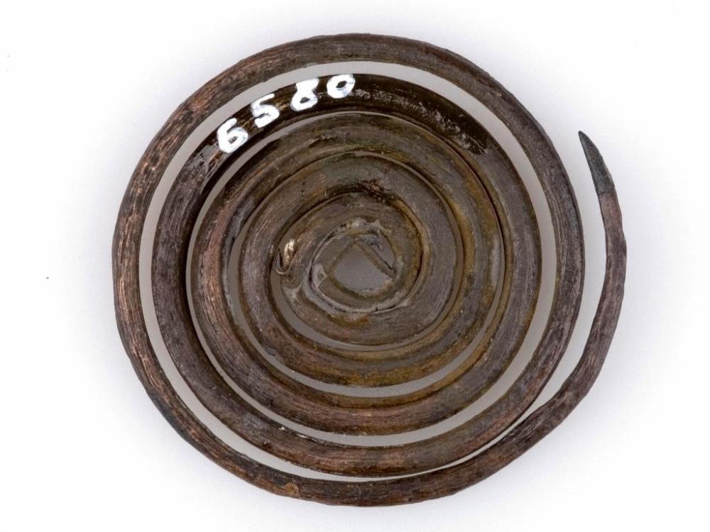 Kupferspirale vom Mondsee