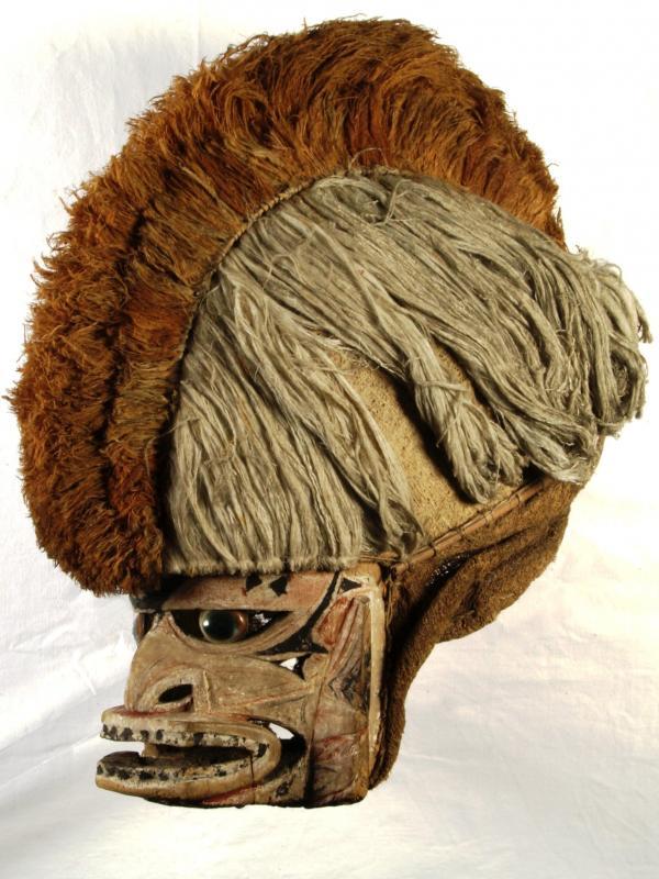 "Malanggan-Maske ""Tatanua"" aus Neu-Irland"
