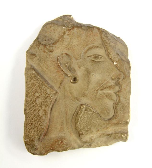 Gipsabguss eines Reliefs von Amenophis IV.