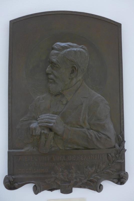 Widmungskassette für August Emil Vogl