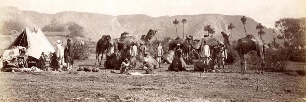 Fotografie von der Weltreise Franz Ferdinands von Österreich-Este 1893 in Indien