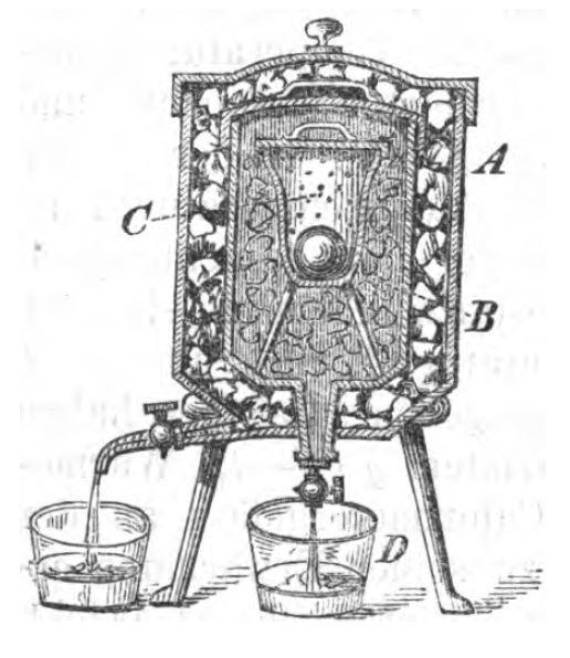 Eiskalorimeter