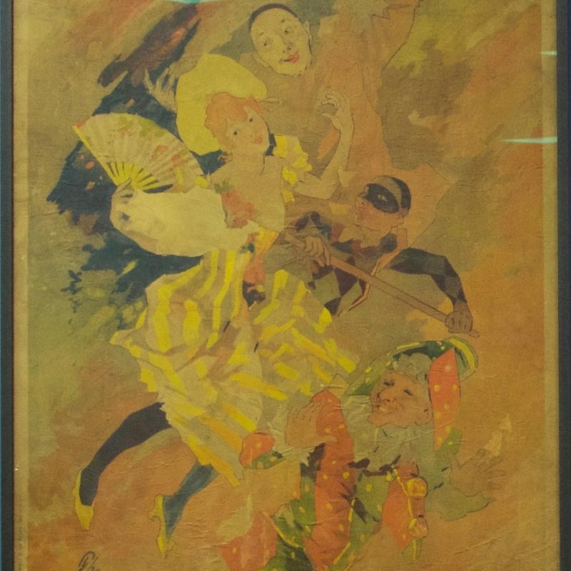 Plakat La Pantomime von Jules Chéret