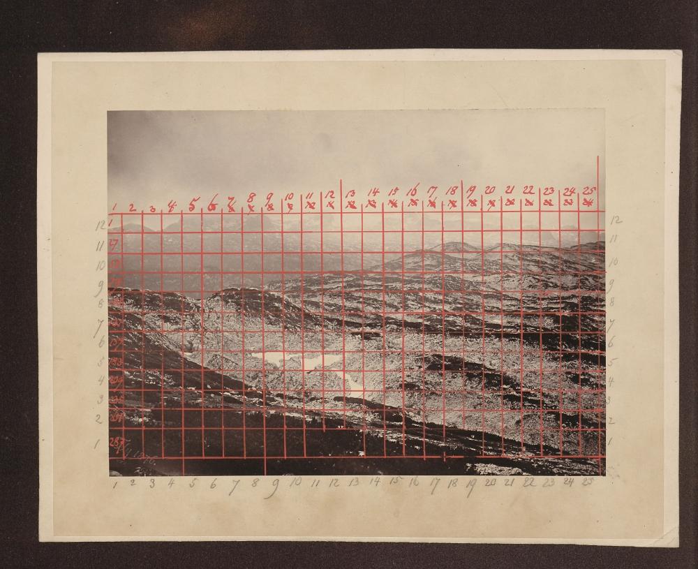 Panorama des Dachsteins von Friedrich Simony