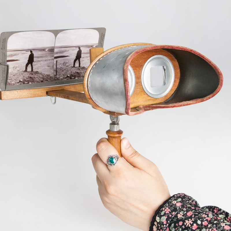 Stereoskop Mercury von Underwood & Underwood, zwischen 1900-1920