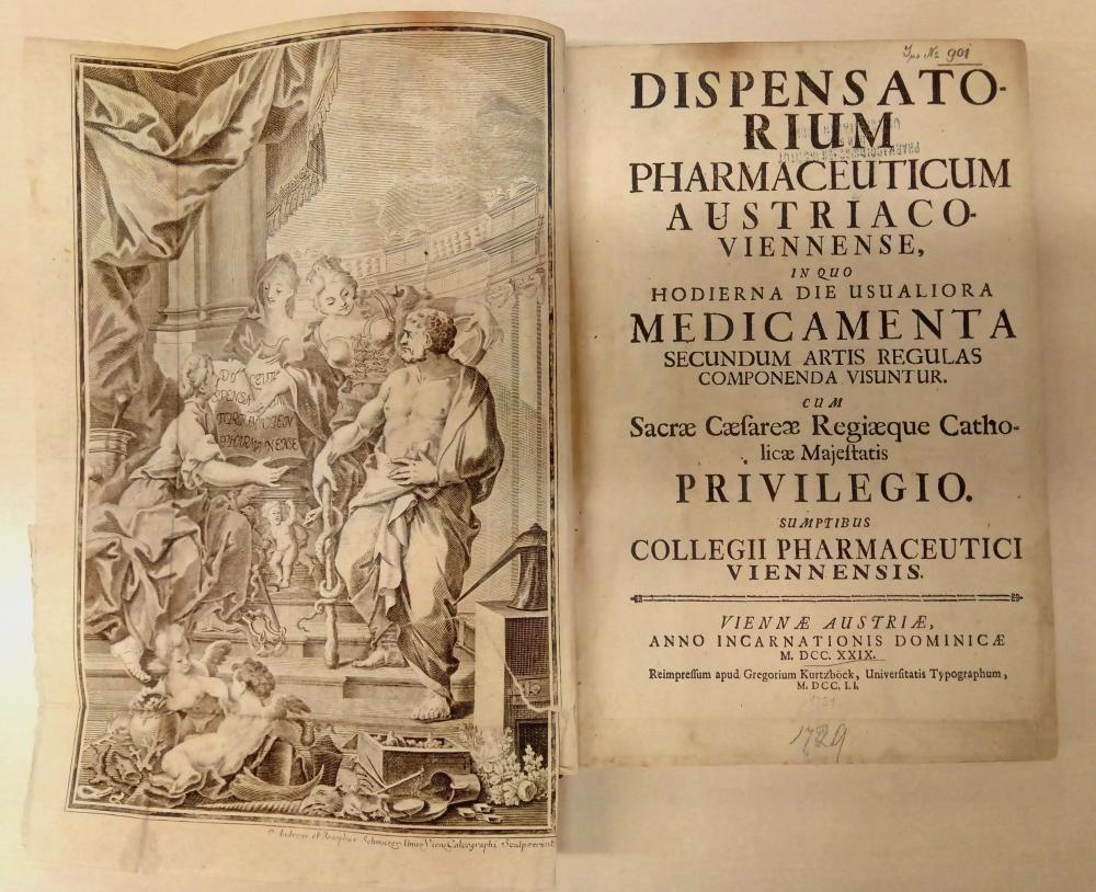 Barockes Dispensatorium - Arzneimittelquelle für Familie Mozart