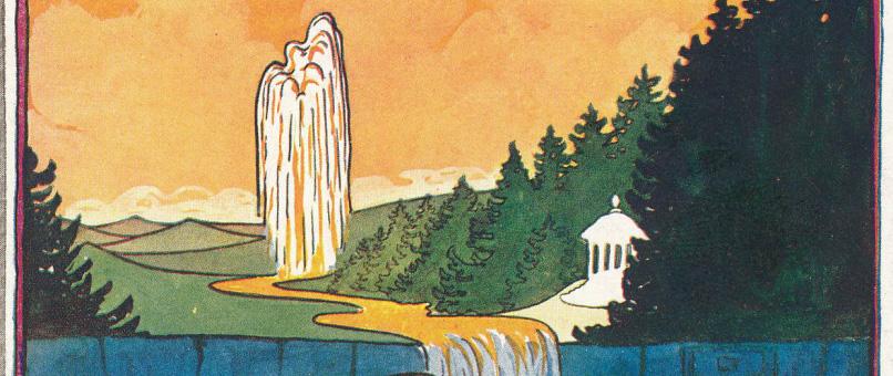 Broschüre über das Heilbad Trencsénteplicz
